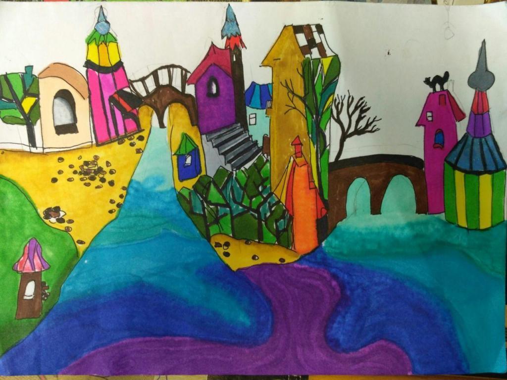 ИЗО студия Крылышки: для детей 9-15 лет, 23 апреля в 18:30