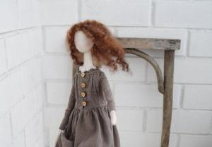 Гордость и предубеждение, текстильная кукла: мастер-класс Ники Ганиной по созданию авторской куклы в студии