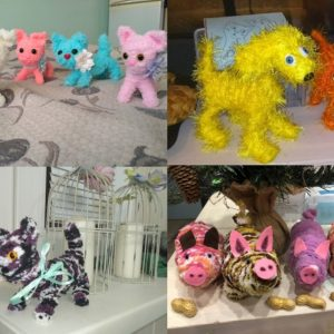 Серия мастер-классов по созданию игрушек по авторской методике, от простого к сложному, в студии в Москве