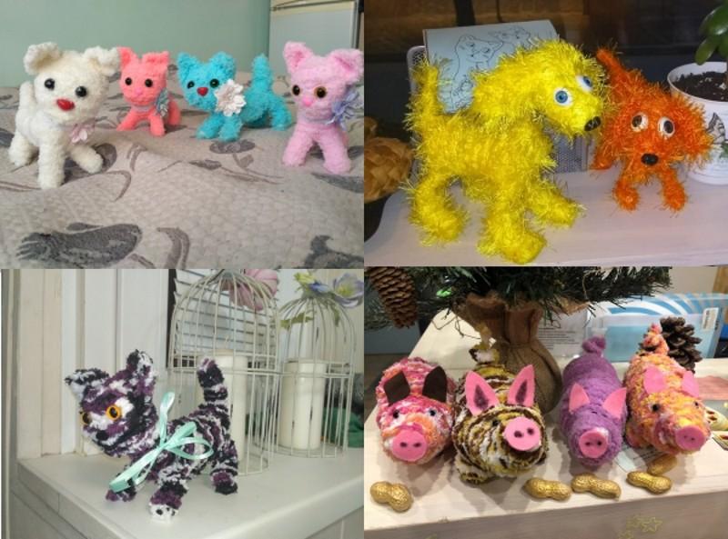 Серия мастер-классов по созданию игрушек по авторской методике, От простого к сложному, в студии в Москве, 25 апреля в 18:30