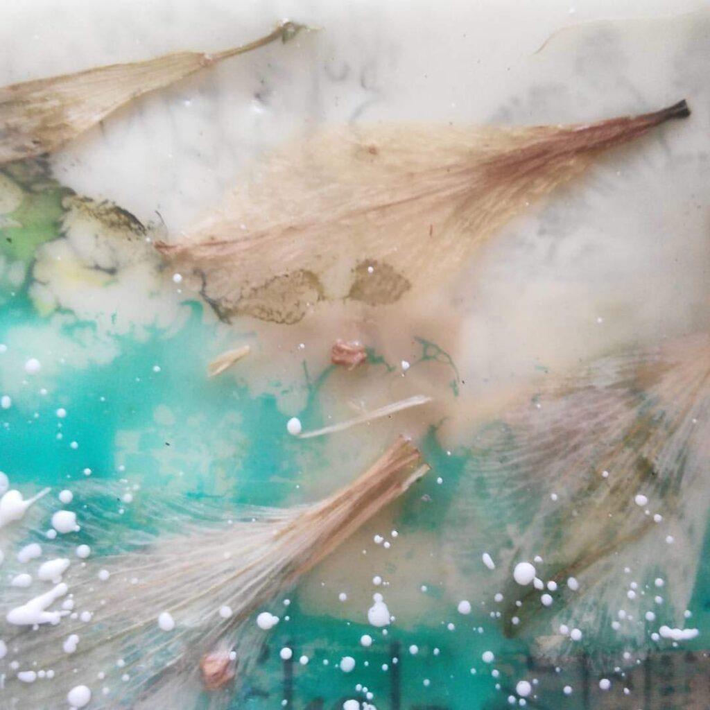 Микс медиа энкаустика 2-я ступень ОНЛАЙН курса Натальи Жуковой, погружение в энкаустику, работа с цветом и фактурами, ПРЕДВ. ЗАПИСЬ