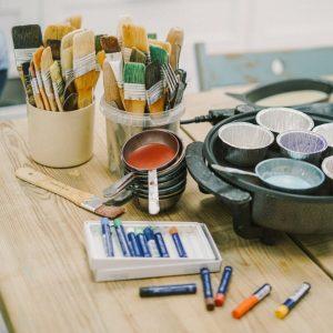 Мастерская креативного рисования онлайн: ведет профессиональный художник-педагог Наталья Жукова