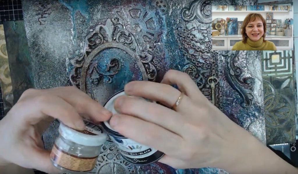 Патины и патинирование: видеозапись вебинара и онлайн МК Натальи Жуковой
