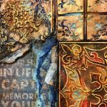 Кофе с корицей: онлайн курс Натальи Жуковой по микс медиа арт, 2 цветовых решения, 12 видео-уроков