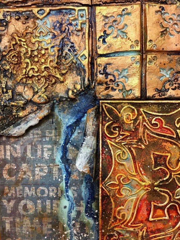 Кофе ☕ с корицей: онлайн курс Натальи Жуковой по микс медиа арт, 2 цветовых решения, начало курса 05.05.21
