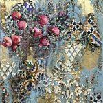 Золотой сад: видео-курс Натальи Жуковой по созданию интерьерного панно микс медиа арт для начинающих