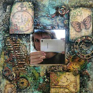 Фактурный Микс: видео-курс Натальи Жуковой по микс медиа декору