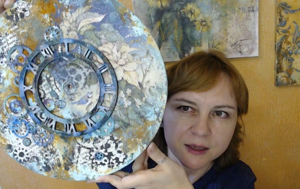 Стимпанк часы: видеозапись мастер-класса Натальи Жуковой для начинающих + еще 15 вебинаров и МК