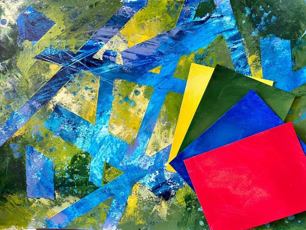 Какого цвета ваш ресурс?: вебинар художника, педагога и арт-терапевта Натальи Жуковой